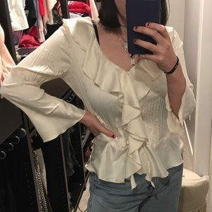 Cream Pirate Blouse